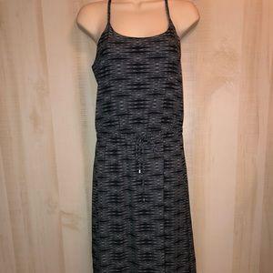 ATHLETA Ariel Novella Maxi Dress Black Print 4